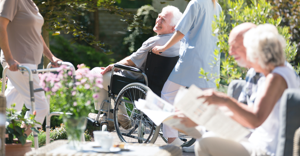 Care home outdoor