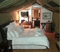 luxury safari tent camp - 1