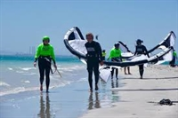 leading kitesurfing school website - 1